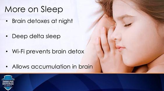 Brain detoc on night