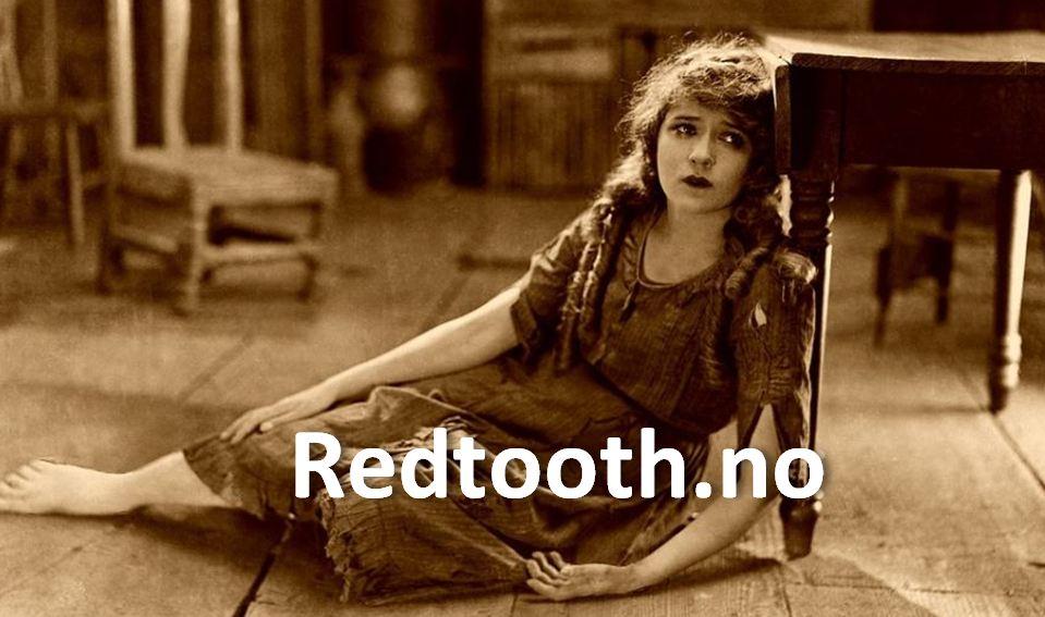 Redtooth og trist dame