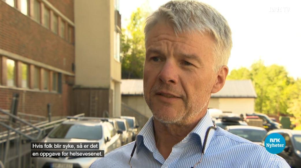Lars Klæbo på Nrk