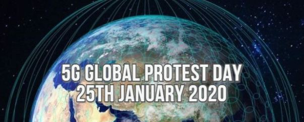 global 5G protest