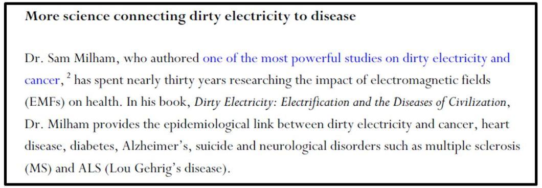 Dirty el skylden for helsekrise4