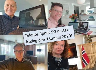 Telenor åpner 5G i Norge 5