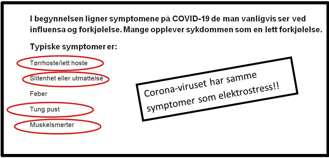 Samme symtomer