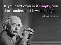 Einstein og det å forstå