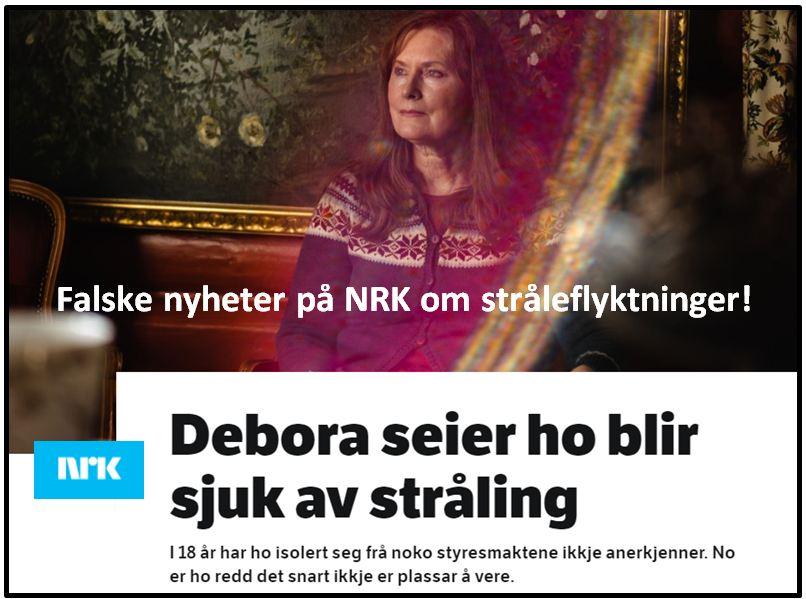 Falske nyheter på NRK