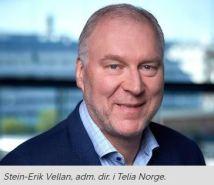 Stein-Erik Vellan i Telia